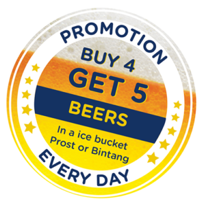 Sticker_POOL BEER PROMOTION